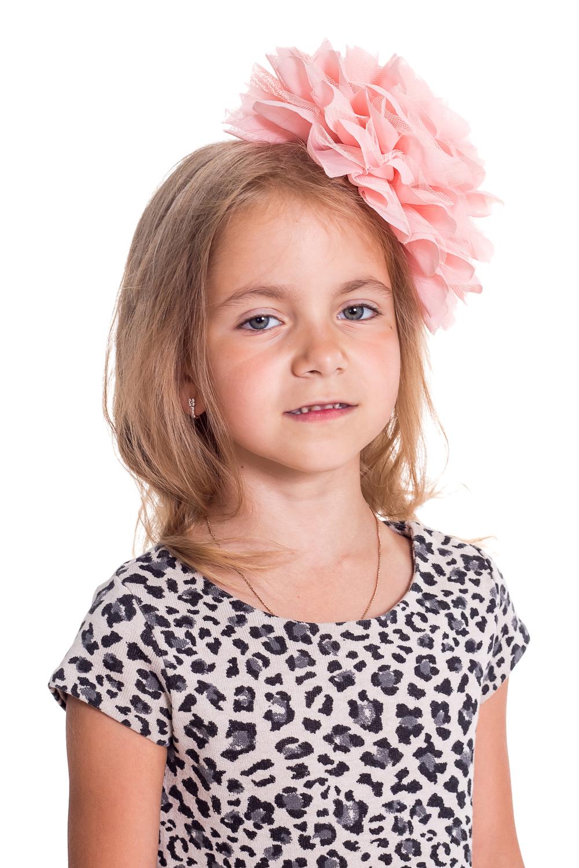 ОбодокУкрашения<br>Ободок для девочки украсит прическу и поднимет настроение Вашему ребенку.  Цветок 21 см  Цвет: чайная роза<br><br>По сезону: Всесезон<br>Размер : UNI<br>Материал: Гипюровая сетка<br>Количество в наличии: 2