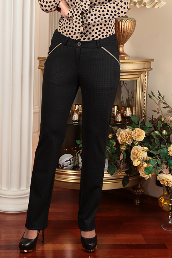 Брюки женские брюки лэйт темный размер 56