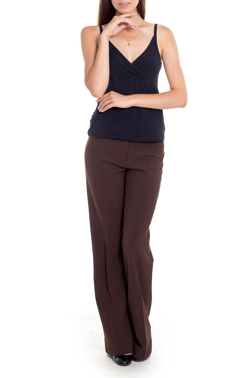 БрюкиБрюки<br>Классические брюки со стрелками. Модель выполнена из приятного материала. Отличный выбор повседневного и делового гардероба.  Цвет: коричневый  Рост девушки-фотомодели 170 см.<br><br>По длине: Удлиненные<br>По материалу: Тканевые<br>По образу: Город,Офис<br>По рисунку: Однотонные<br>По силуэту: Полуприталенные<br>По стилю: Классический стиль,Офисный стиль,Повседневный стиль<br>По форме: Классические<br>По элементам: Со стрелками<br>По сезону: Осень,Весна<br>Размер : 42,44<br>Материал: Костюмная ткань<br>Количество в наличии: 3