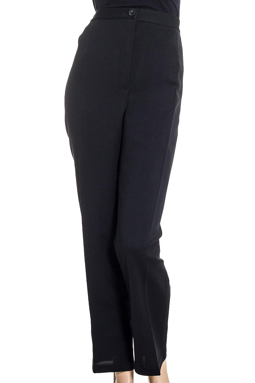 БрюкиБрюки<br>Классические брюки со стрелками. Модель выполнена из приятного материала. Отличный выбор для повседневного и делового гардероба.  Цвет: черный  Ростовка изделия 170 см.<br><br>По материалу: Тканевые<br>По рисунку: Однотонные<br>По силуэту: Полуприталенные<br>По стилю: Классический стиль,Офисный стиль,Повседневный стиль<br>По форме: Классические<br>По элементам: Со стрелками<br>По сезону: Осень,Весна<br>Размер : 64,66,68,70,74<br>Материал: Костюмная ткань<br>Количество в наличии: 6