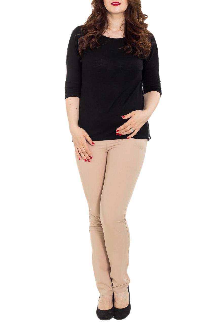 БрюкиБрюки для будущих мам<br>Очаровательные зауженные брючки из тонкой костюмной ткани украсят летний гардероб беременной модницы. Брючки с бандажом прекрасно поддерживающим животик, комфортным для любого срока беременности. Спереди вместительные карманы, сзади накладные с отстрочкой. Прекрасный вариант на каждый день. Модель будет так же очень комфортна в первые месяцы после рождения малыша.   Цвет: кремовый.  Рост девушки-фотомодели 180 см  Длина изделия по внутреннему шву около 84 см.<br><br>По материалу: Тканевые<br>По рисунку: Однотонные<br>По силуэту: Приталенные<br>По стилю: Кэжуал,Классический стиль,Офисный стиль,Повседневный стиль<br>По форме: Зауженные<br>По сезону: Осень,Весна<br>По элементам: С завышенной талией<br>Размер : 46,48<br>Материал: Костюмно-плательная ткань<br>Количество в наличии: 2
