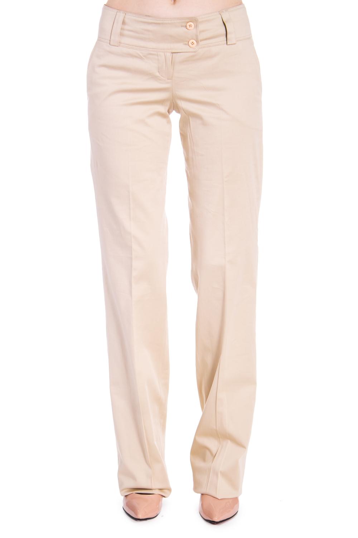 БрюкиБрюки<br>Классические брюки со стрелками. Модель выполнена из приятного материала. Отличный выбор для повседневного и делового гардероба.В изделии использованы цвета: бежевыйРост девушки-фотомодели 170 см<br><br>Материал: Костюмные ткани,Тканевые<br>Рисунок: Однотонные<br>Сезон: Весна,Лето<br>Силуэт: Полуприталенные<br>Стиль: Классический стиль,Летний стиль,Офисный стиль,Повседневный стиль<br>Форма: Классические<br>Элементы: Со стрелками<br>Размер : 42<br>Материал: Костюмная ткань<br>Количество в наличии: 1