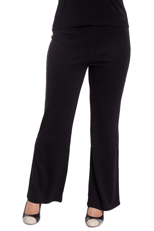 БрюкиБрюки<br>Классические брюки прямого силуэта. Отличный выбор для повседневного и делового гардероба.  Цвет: черный  Рост девушки-фотомодели 180 см<br><br>По материалу: Трикотаж<br>По образу: Город,Офис,Свидание<br>По рисунку: Однотонные<br>По силуэту: Полуприталенные<br>По стилю: Офисный стиль,Повседневный стиль<br>По форме: Классические<br>По сезону: Осень,Весна,Зима<br>Размер : 44,46,48<br>Материал: Трикотаж<br>Количество в наличии: 6