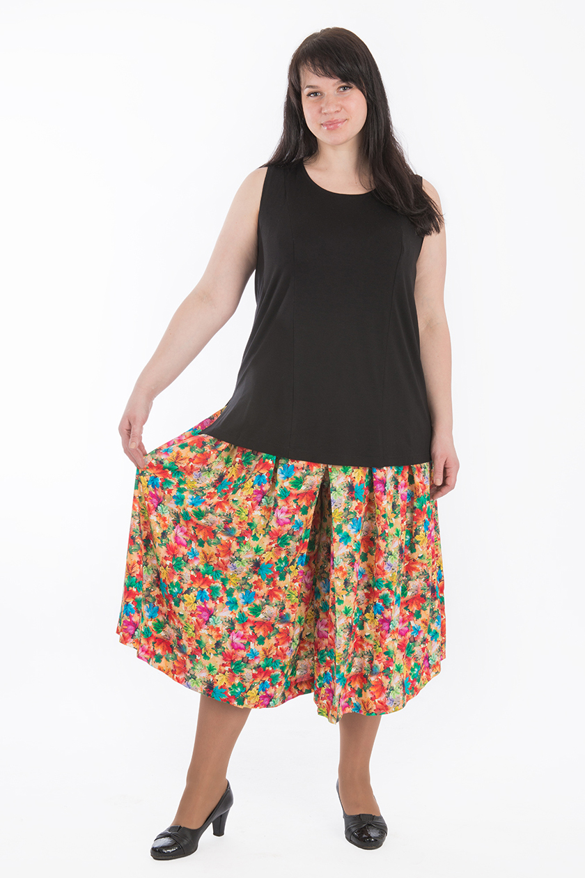 Юбка - брюки купить в интернет-магазине в Москве, цена 3590 |B(50)-BRN