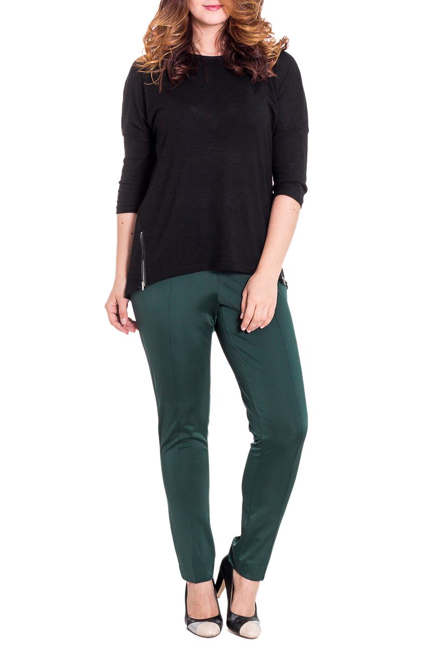 БрюкиБрюки<br>Классические женские брюки из плотного трикотажа. Отличный выбор для повседневного и делового гардероба.  Цвет: зеленый  Рост девушки-фотомодели 180 см<br><br>По материалу: Вискоза,Трикотаж<br>По рисунку: Однотонные<br>По сезону: Весна,Осень,Зима<br>По силуэту: Полуприталенные<br>По стилю: Классический стиль,Офисный стиль<br>По форме: Классические<br>По элементам: С резинкой<br>Размер : 46,48,52<br>Материал: Трикотаж<br>Количество в наличии: 3
