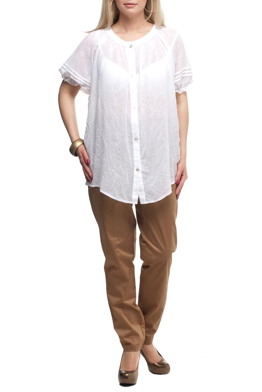 БрюкиБрюки<br>Удобные летние брюки с карманами. Модель выполнена из хлопкового материала. Отличный выбор для повседневного гардероба.  Цвет: бежевый  Рост девушки-фотомодели 170 см<br><br>По длине: Удлиненные<br>По материалу: Тканевые,Хлопок<br>По образу: Город,Офис<br>По рисунку: Однотонные<br>По силуэту: Полуприталенные<br>По стилю: Кэжуал,Повседневный стиль,Сафари<br>По форме: Зауженные<br>По элементам: С карманами<br>По сезону: Лето<br>Размер : 52,54,56,58,60,62,64,66,68,70<br>Материал: Костюмная ткань<br>Количество в наличии: 27