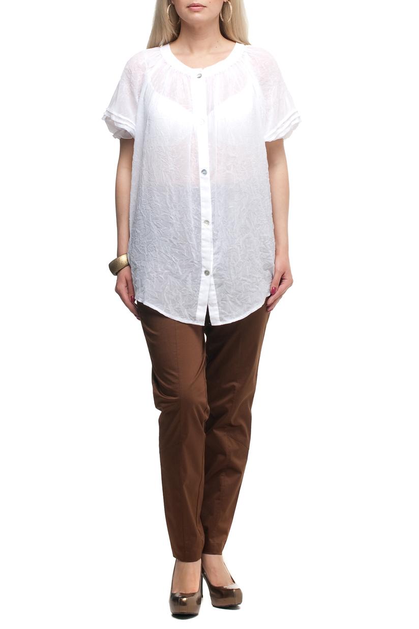 БрюкиБрюки<br>Удобные летние брюки с карманами. Модель выполнена из хлопкового материала. Отличный выбор для повседневного гардероба.  Цвет: коричневый  Рост девушки-фотомодели 170 см<br><br>По материалу: Тканевые,Хлопок<br>По рисунку: Однотонные<br>По силуэту: Полуприталенные<br>По стилю: Кэжуал,Повседневный стиль,Сафари,Летний стиль<br>По форме: Зауженные<br>По элементам: С карманами<br>По сезону: Лето<br>Размер : 52,54,56,58,60,62,64,66,68<br>Материал: Костюмная ткань<br>Количество в наличии: 22