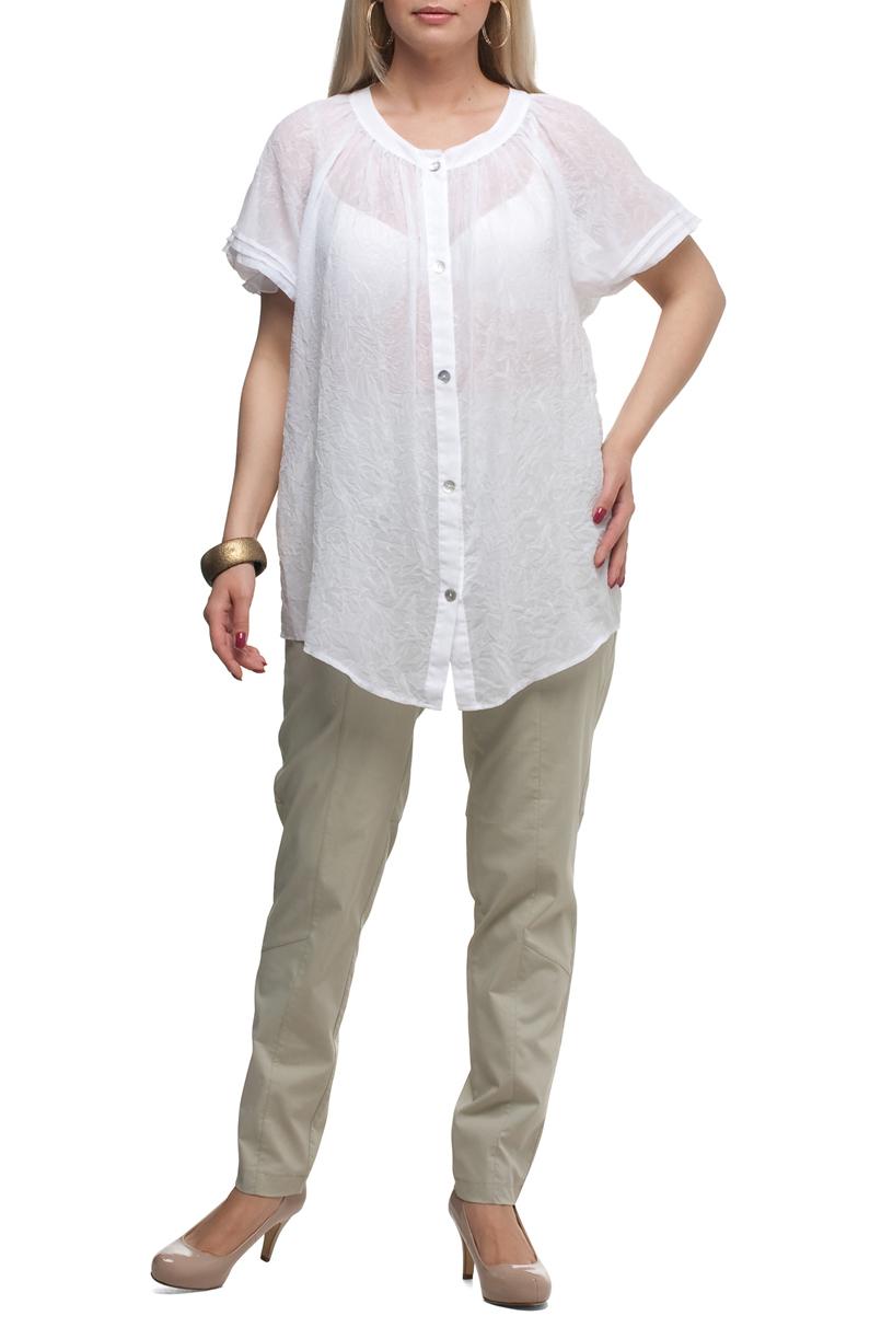 БрюкиБрюки<br>Удобные летние брюки с карманами. Модель выполнена из хлопкового материала. Отличный выбор для повседневного гардероба.  Цвет: молочный  Рост девушки-фотомодели 170 см<br><br>По материалу: Тканевые,Хлопок<br>По рисунку: Однотонные<br>По силуэту: Полуприталенные<br>По стилю: Кэжуал,Повседневный стиль<br>По форме: Зауженные<br>По элементам: С карманами<br>По сезону: Лето<br>Размер : 52,54,56,60,62,64,68,70<br>Материал: Костюмная ткань<br>Количество в наличии: 13
