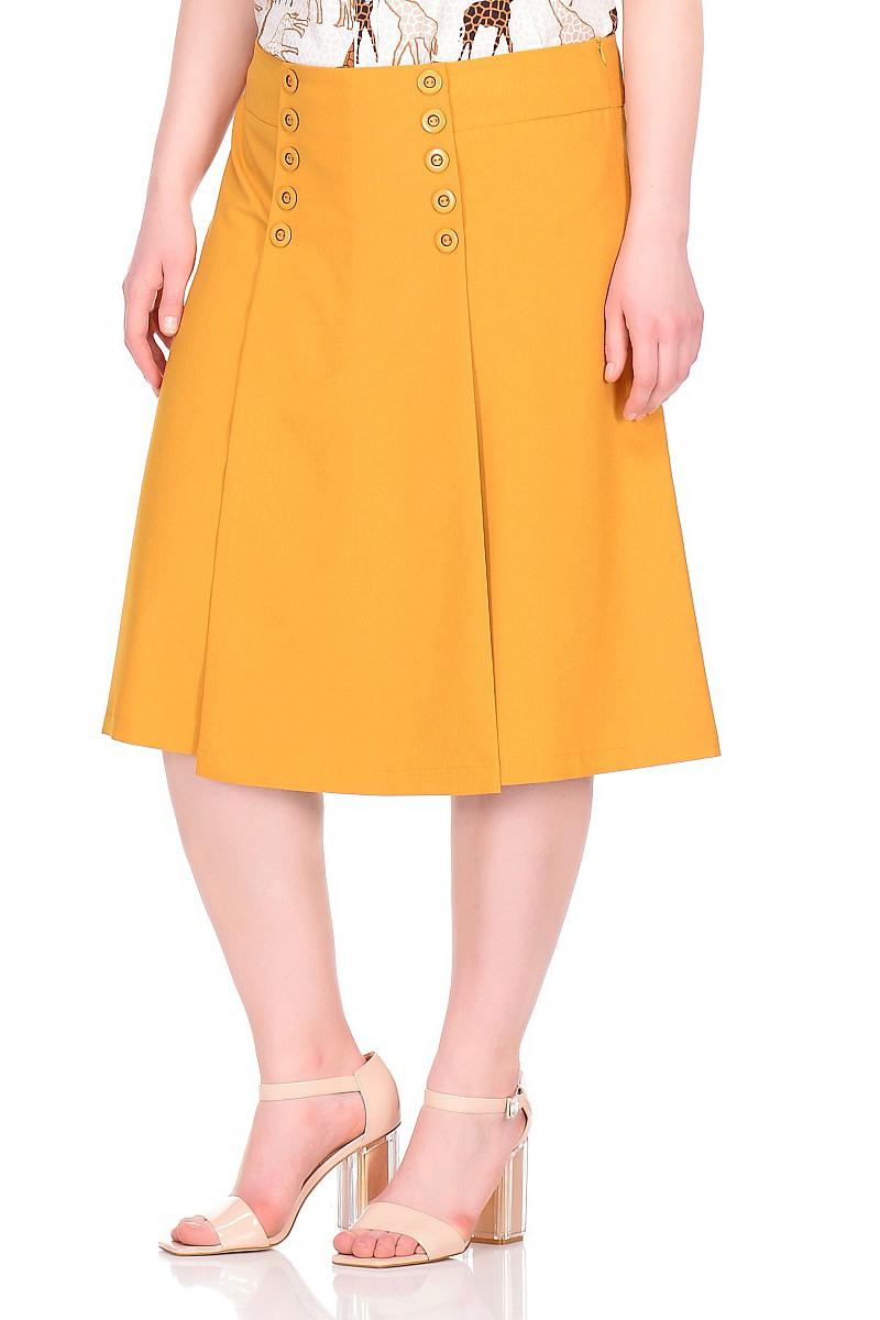 Фото - Брюки-юбка юбка oodji collection цвет кремовый меланж 21601254 8 46760 3000m размер 36 170 42 170
