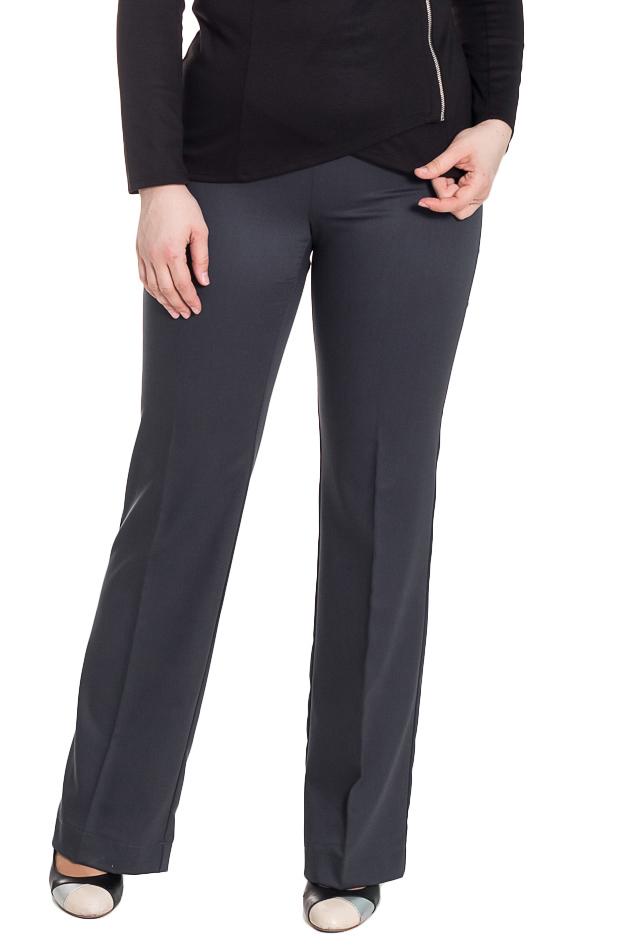 БрюкиБрюки<br>Классические женские брюки с притачным поясом чуть ниже линии талии. На задней части талиевые вытачки. Небольшой клеш к низу. Стрелки на передней части изделия. Молния в боковом шве.   Цвет: серый.  Рост девушки-фотомодели 180 см  Длина изделия по боковому шву - 110 ± 2 см  Длина внутреннего шва - 89 ± 2 см<br><br>По длине: Удлиненные<br>По материалу: Костюмные ткани<br>По образу: Город,Офис,Свидание<br>По рисунку: Однотонные<br>По сезону: Весна,Зима,Лето,Осень,Всесезон<br>По стилю: Классический стиль,Кэжуал,Офисный стиль,Повседневный стиль<br>По форме: Брюки-клеш,Классические<br>По элементам: С молнией,Со стрелками<br>Размер : 44,46,48,50,52,54,56<br>Материал: Костюмная ткань<br>Количество в наличии: 17