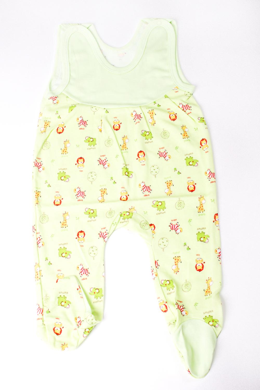 ПолзункиПолзунки<br>Хлопковые ползунки для новорожденного  В изделии использованы цвета: зеленый, желтый  Размер соответствует росту ребенка<br><br>По сезону: Всесезон<br>Размер : 74<br>Материал: Трикотаж<br>Количество в наличии: 1