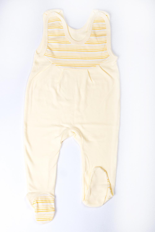 ПолзункиПолзунки<br>Хлопковые ползунки для новорожденного  В изделии использованы цвета: желтый  Размер соответствует росту ребенка<br><br>По сезону: Всесезон<br>Размер : 80<br>Материал: Трикотаж<br>Количество в наличии: 1