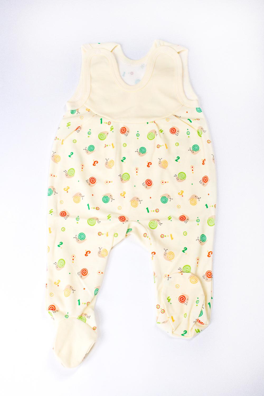 ПолзункиПолзунки<br>Хлопковые ползунки для новорожденного  Цвет: светло-желтый и др.  Размер соответствует росту ребенка<br><br>По сезону: Всесезон<br>Размер : 68<br>Материал: Трикотаж<br>Количество в наличии: 1