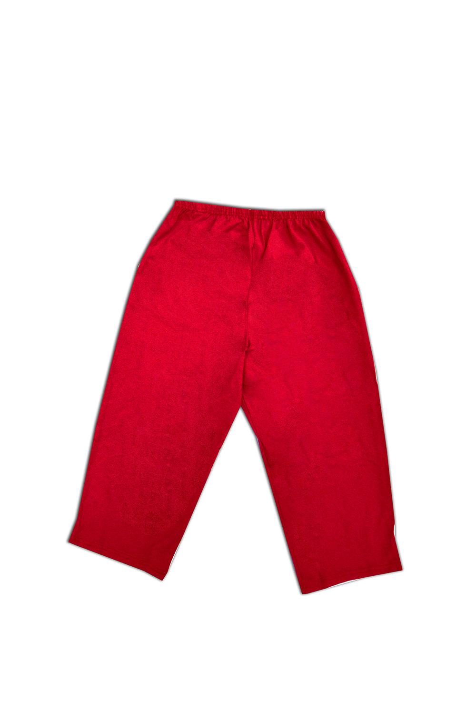 БриджиКапри и бриджи<br>Комфортные домашние бриджи из мягкого трикотажа. Домашняя одежда, прежде всего, должна быть удобной, практичной и красивой. В наших изделиях Вы будете чувствовать себя комфортно, особенно, по вечерам после трудового дня.  Цвет: красный  Ростовка изделия 170 см.<br><br>По длине: Ниже колена<br>По материалу: Трикотаж,Хлопок<br>По рисунку: Однотонные<br>По сезону: Весна,Зима,Лето,Осень,Всесезон<br>По силуэту: Полуприталенные<br>Размер : 46,48,50,52,54,56,58<br>Материал: Трикотаж<br>Количество в наличии: 21