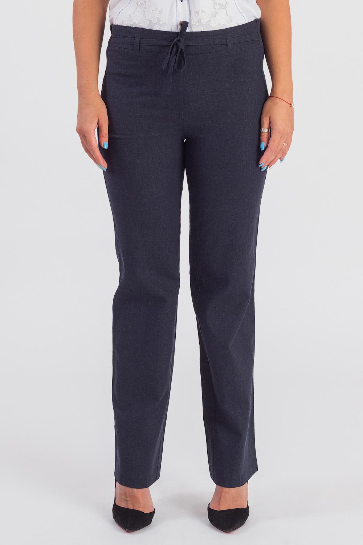 Брюки женские брюки лэйт темный размер 46