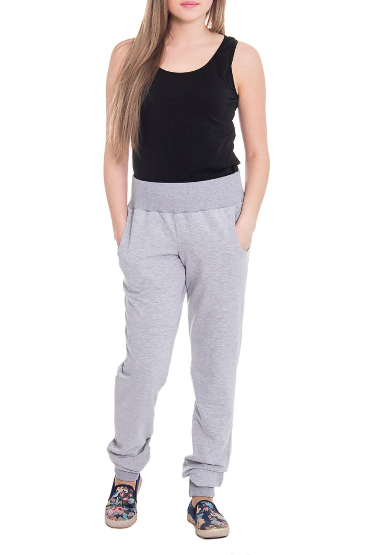 БрюкиБрюки<br>Комфортные домашние брюки из мягкого трикотажа. Домашняя одежда, прежде всего, должна быть удобной, практичной и красивой. В наших изделиях Вы будете чувствовать себя комфортно, особенно, по вечерам после трудового дня.  Цвет: серый  Рост девушки-фотомодели 164 см<br><br>По рисунку: Однотонные<br>По сезону: Весна,Осень<br>По силуэту: Свободные<br>По материалу: Трикотаж,Хлопок<br>По элементам: С резинкой<br>Размер : 46,48,50,52,54<br>Материал: Трикотаж<br>Количество в наличии: 8