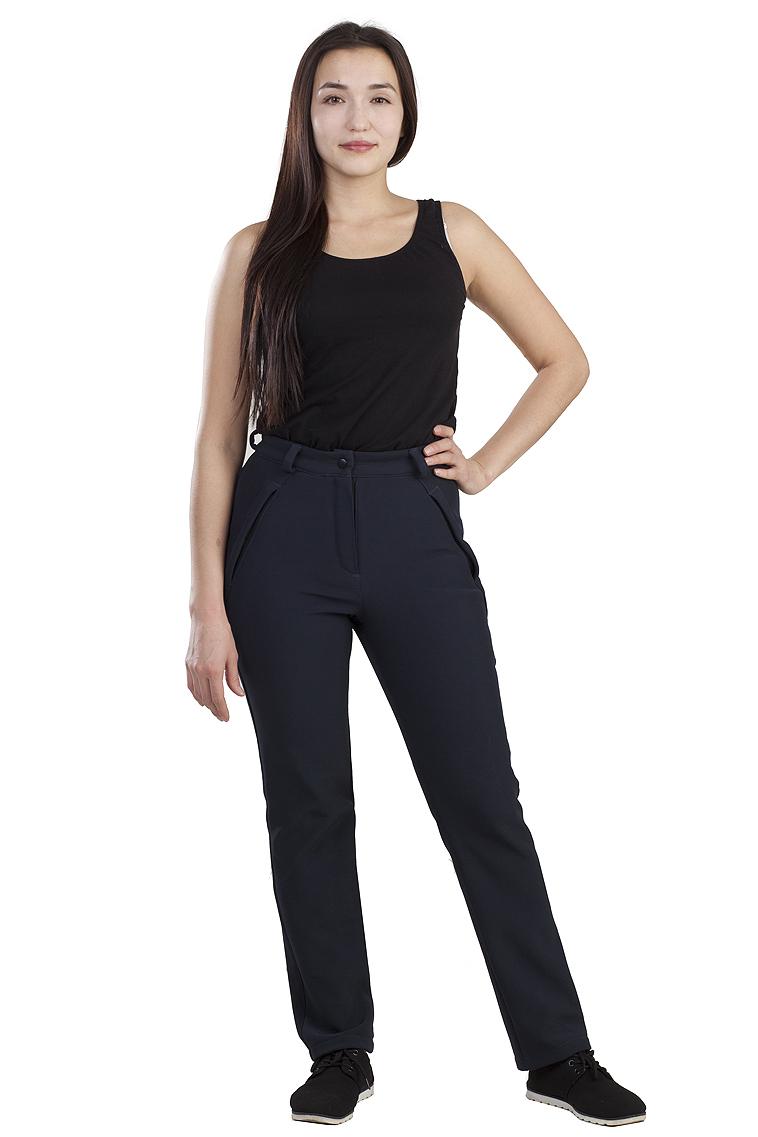 брюки женские oodji ultra цвет темно синий 11706193b 42841 7901n размер 38 170 44 170 Брюки