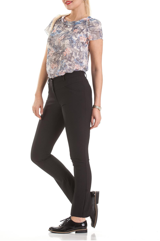 БрюкиБрюки<br>Классические женские брюки полуприталенного силуэта со флисом и стрелками.  Цвет: черный.  Ростовка изделия 170 см.<br><br>По материалу: Костюмные ткани,Флис<br>По рисунку: Однотонные<br>По силуэту: Полуприталенные<br>По стилю: Классический стиль,Кэжуал,Офисный стиль,Повседневный стиль<br>По форме: Классические<br>По элементам: С декором,С молнией,Со стрелками<br>По сезону: Зима<br>Размер : 44,46<br>Материал: Костюмная ткань<br>Количество в наличии: 3