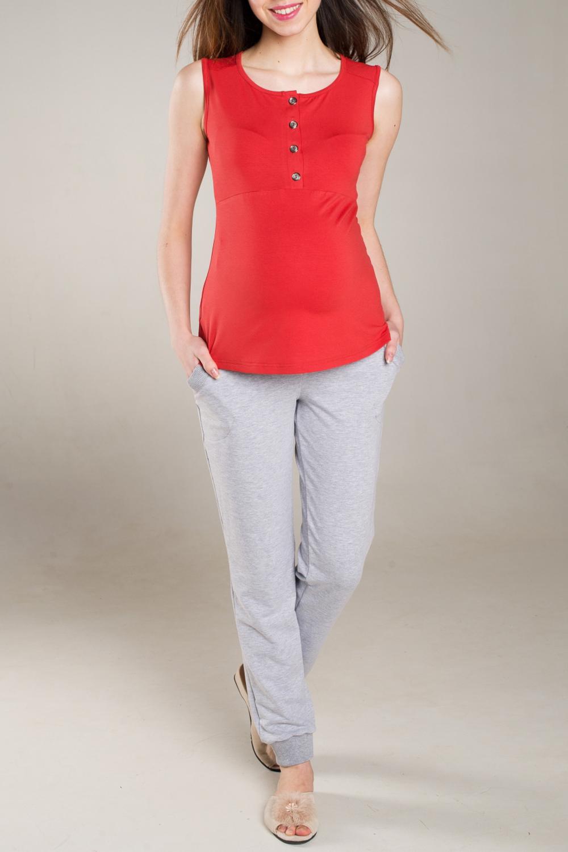 БрюкиОдежда для дома<br>Комфортные домашние брюки из мягкого трикотажа. Домашняя одежда, прежде всего, должна быть удобной, практичной и красивой.  За счет свободного кроя и эластичного материала изделие можно носить во время беременности    Цвет: серый<br><br>Сезон: Всесезон<br>Размер : 42,44,46,52<br>Материал: Трикотаж<br>Количество в наличии: 4