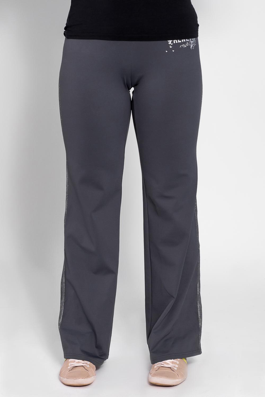 БрюкиБрюки<br>Удобные брюки из плотного трикотажа. Отличный выбор для занятий спортом или активного отдыха  Цвет: серый  Рост девушки-фотомодели 180 см<br><br>По материалу: Трикотаж<br>По рисунку: Однотонные<br>По сезону: Весна,Осень<br>По силуэту: Полуприталенные<br>По стилю: Повседневный стиль,Спортивный стиль<br>По элементам: С карманами<br>Размер : 46,48<br>Материал: Трикотаж<br>Количество в наличии: 2
