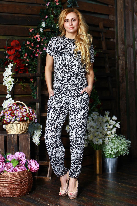 БрюкиБрюки<br>Прелестные женские брюки из легкого трикотажа с прорезными боковыми карманами, пояс на широкой резинке, по низу брюк - кулиса.  Цвет: черный, белый.  Рост девушки-фотомодели 175 см<br><br>По длине: Удлиненные<br>По материалу: Трикотаж<br>По образу: Город,Свидание<br>По рисунку: В полоску,Геометрия,С принтом,Цветные<br>По сезону: Лето,Осень,Весна<br>По силуэту: Свободные<br>По стилю: Летний стиль,Повседневный стиль<br>По форме: Шаровары<br>По элементам: С завязками,С карманами,С резинкой<br>Размер : 52,54<br>Материал: Холодное масло<br>Количество в наличии: 2