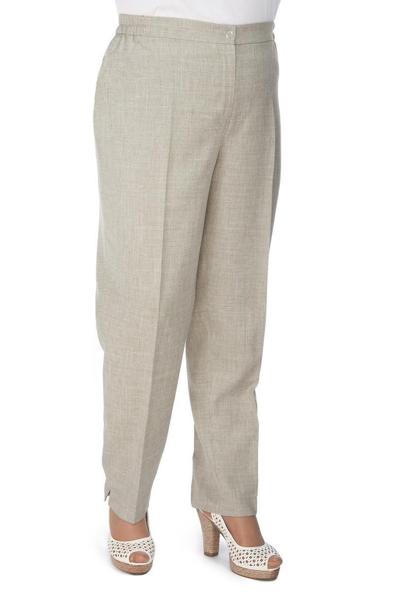 БрюкиБрюки<br>Классические брюки с резинкой в поясе. Модель выполнена из приятного материала. Отличный выбор для повседневного и делового гардероба.  Ростовка изделия 164 см.  В изделии использованы цвета: оливково-серый<br><br>По материалу: Костюмные ткани,Тканевые<br>По рисунку: Однотонные<br>По сезону: Весна,Лето<br>По силуэту: Полуприталенные<br>По стилю: Классический стиль,Офисный стиль,Повседневный стиль<br>По форме: Классические<br>По элементам: С резинкой,Со стрелками<br>Размер : 50,56<br>Материал: Костюмная ткань<br>Количество в наличии: 2