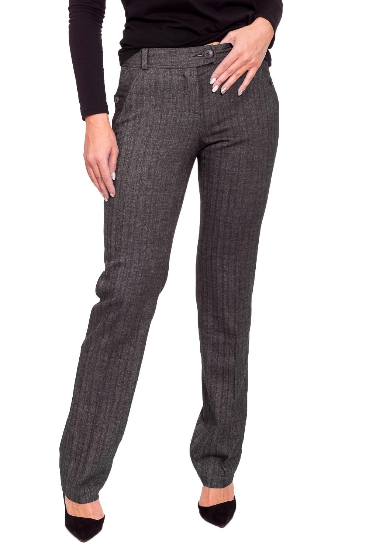 Брюки брюки женские oodji ultra цвет темно серый меланж 11700214 1b 14917 2500m размер 38 170 44 170