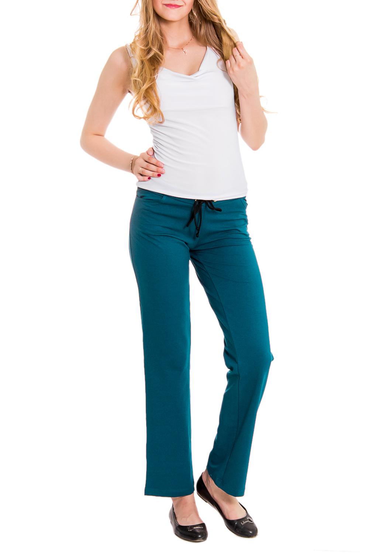 БрюкиБрюки<br>Домашние брюки из хлопкового материала. Домашняя одежда, прежде всего, должна быть удобной, практичной и красивой. В наших изделиях Вы будете чувствовать себя комфортно, особенно, по вечерам после трудового дня.  Цвет: морская волна  Рост девушки-фотомодели 176 см<br><br>По рисунку: Однотонные<br>По сезону: Весна,Осень<br>По силуэту: Полуприталенные<br>По элементам: На резинке<br>По длине: Удлиненные<br>По материалу: Трикотаж,Хлопок<br>Размер : 42-44<br>Материал: Трикотаж<br>Количество в наличии: 1