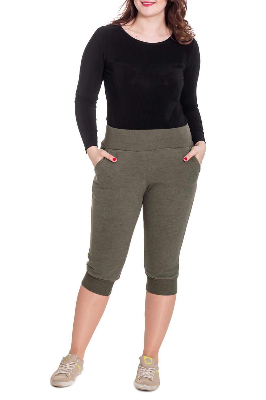 БриджиКапри и бриджи<br>Комфортные домашние бриджи из мягкого трикотажа. Домашняя одежда, прежде всего, должна быть удобной, практичной и красивой. В наших изделиях Вы будете чувствовать себя комфортно, особенно, по вечерам после трудового дня.  Цвет: зеленый  Рост девушки-фотомодели 180 см.<br><br>По рисунку: Однотонные<br>По силуэту: Полуприталенные<br>По элементам: На резинке<br>По сезону: Осень,Весна<br>По материалу: Трикотаж<br>Размер : 46<br>Материал: Трикотаж<br>Количество в наличии: 2