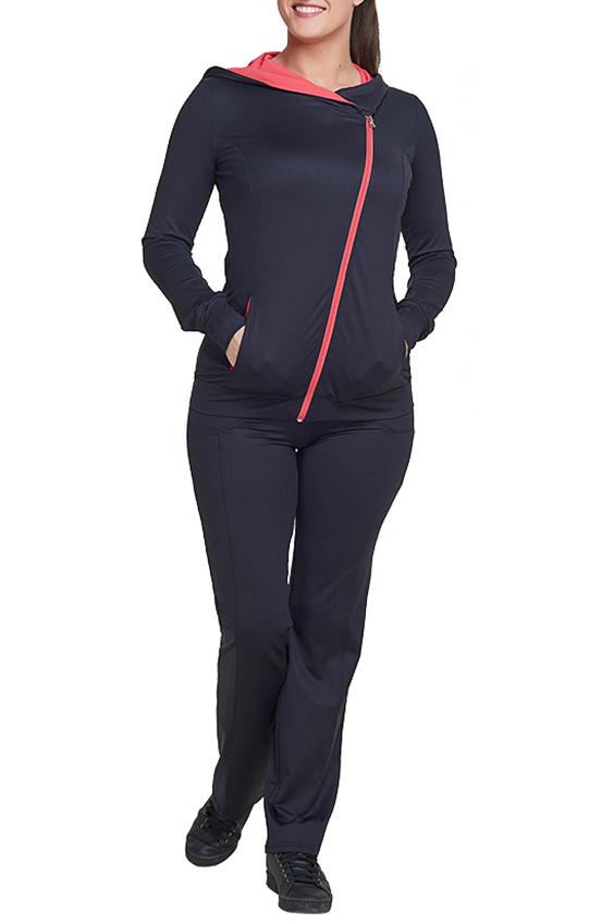 БрюкиСпортивная одежда<br>Удобные брюки из эластичного трикотажа. Отличный выбор для занятий спортом или активного отдыха.  В изделии использованы цвета: черный  Ростовка изделия 170 см.<br><br>По длине: Макси<br>По рисунку: Однотонные<br>По сезону: Весна,Зима,Лето,Осень,Всесезон<br>По силуэту: Приталенные<br>По стилю: Спортивный стиль<br>По форме: Брюки<br>Размер : 50,52<br>Материал: Трикотаж<br>Количество в наличии: 2