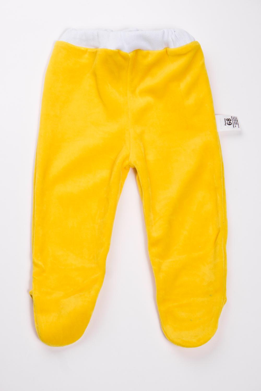 ПолзункиПолзунки<br>Мягкие велюровые ползунки для новорожденного.  В изделии использованы цвета: желтый, белый  Размер соответствует росту ребенка<br><br>По сезону: Всесезон<br>Размер : 68,74<br>Материал: Велюр<br>Количество в наличии: 3