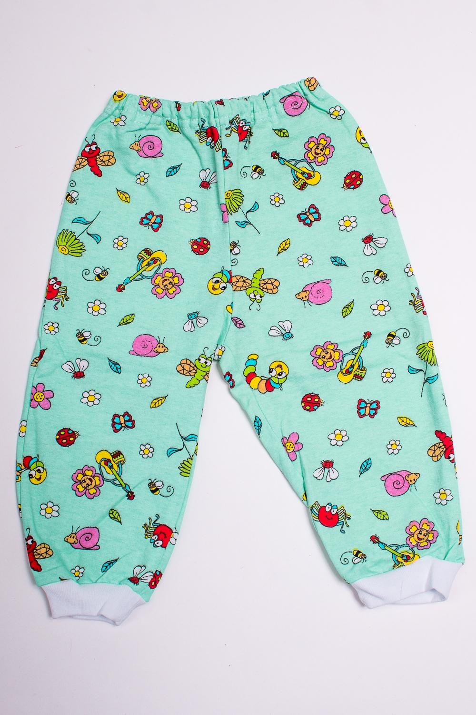 ШтанишкиПолзунки<br>Хлопковые штанишки для новорожденного.  В изделии использованы цвета: светло-бирюзовый и др.  Размер соответствует росту ребенка<br><br>По сезону: Всесезон<br>Размер : 68<br>Материал: Хлопок<br>Количество в наличии: 1