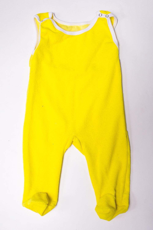 ПолзункиПолзунки<br>Хлопковые ползунки для новорожденного.  В изделии использованы цвета: желтый, белый  Размер соответствует росту ребенка<br><br>Размер : 80,86<br>Материал: Махровое полотно<br>Количество в наличии: 5