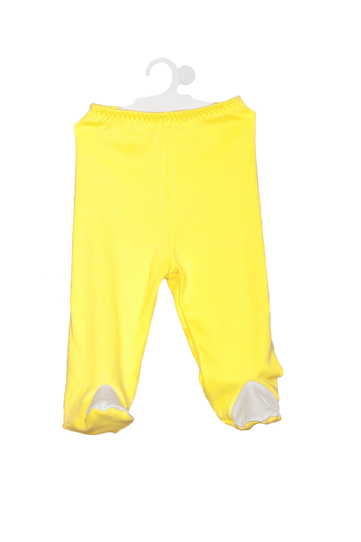 ПолзункиПолзунки<br>Трикотажные ползунки для новорожденного  В изделии использованы цвета: желтый, белый  Размер соответствует росту ребенка<br><br>По сезону: Всесезон<br>Размер : 62,68,74<br>Материал: Трикотаж<br>Количество в наличии: 5