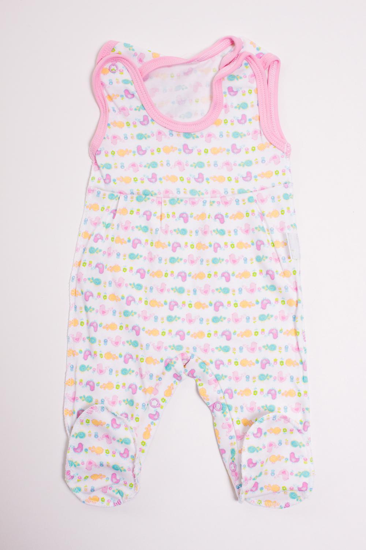 ПолзункиПолзунки<br>Хлопковые ползунки для новорожденного  Цвет: белый, розовый, мультицвет  Размер соответствует росту ребенка<br><br>Размер : 62,68<br>Материал: Трикотаж<br>Количество в наличии: 2