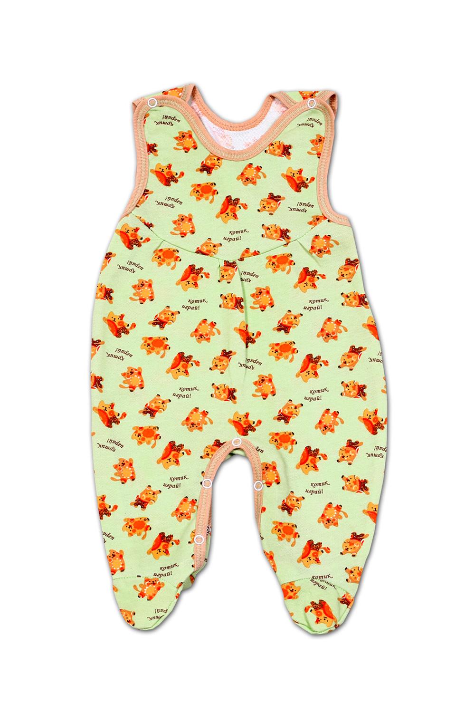 ПолзункиПолзунки<br>Яркие ползунки для ребенка  В изделии использованы цвета: зеленый, оранжевый и др.  Размер соответствует росту ребенка<br><br>По сезону: Всесезон<br>Размер : 56,80<br>Материал: Трикотаж<br>Количество в наличии: 4