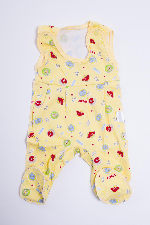 ПолзункиПолзунки<br>Хлопковые ползунки для новорожденного  Цвет: желтый, мультицвет  Размер соответствует росту ребенка<br><br>Размер : 56<br>Материал: Трикотаж<br>Количество в наличии: 1