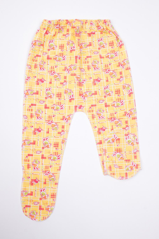 ПолзункиПолзунки<br>Хлопковые ползунки для новорожденного  Цвет: желтый, розовый  Размер соответствует росту ребенка<br><br>Размер : 74<br>Материал: Трикотаж<br>Количество в наличии: 1