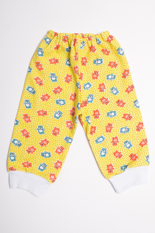 ШтанишкиПолзунки<br>Хлопковые штанишки для новорожденного  Цвет: желтый, мультицвет  Размер соответствует росту ребенка<br><br>Размер : 68<br>Материал: Трикотаж<br>Количество в наличии: 1