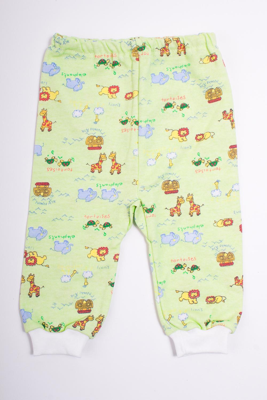 ШтанишкиПолзунки<br>Хлопковые штанишки для новорожденного.  Цвет: зеленый, мультицвет  Размер соответствует росту ребенка<br><br>По сезону: Всесезон<br>Размер : 62<br>Материал: Хлопок<br>Количество в наличии: 1