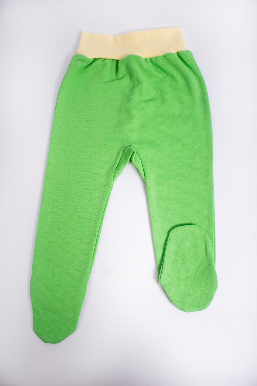 ШтанишкиПолзунки<br>Хлопковые штанишки для новорожденного  В изделии использованы цвета: зеленый, желтый    Размер соответствует росту ребенка<br><br>По возрасту: Ясельные ( от 1 до 3 лет)<br>По длине: Удлиненные<br>По материалу: Трикотажные,Хлопковые<br>По образу: Повседневные<br>По рисунку: Однотонные<br>По сезону: Весна,Зима,Лето,Осень,Всесезон<br>По силуэту: Полуприталенные<br>По элементам: На резинке<br>Размер : 74<br>Материал: Трикотаж<br>Количество в наличии: 1