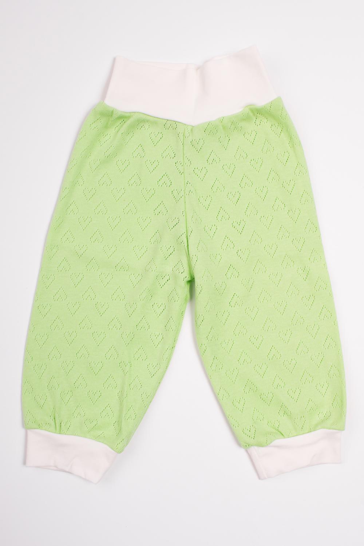 ШтанишкиПолзунки<br>Хлопковые штанишки для новорожденного  Цвет: салатовый, белый  Размер соответствует росту ребенка<br><br>Размер : 74<br>Материал: Трикотаж<br>Количество в наличии: 1