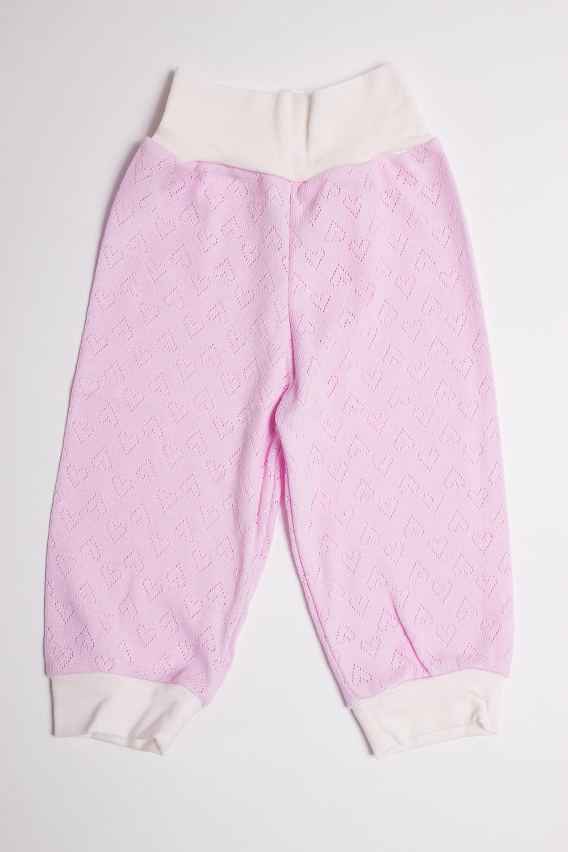 ШтанишкиПолзунки<br>Хлопковые штанишки для новорожденного  Цвет: розовый, белый  Размер соответствует росту ребенка<br><br>Размер : 74<br>Материал: Трикотаж<br>Количество в наличии: 1