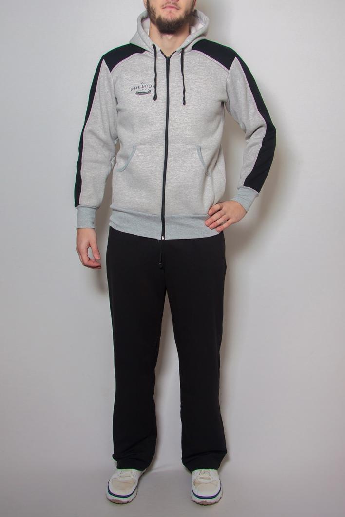 БрюкиБрюки<br>Удобные и практичные мужские брюки. Модель выполнена из эластичного трикотажа. Отличный выбор для занятий спортом или активного отдыха.  Цвет: черный<br><br>По сезону: Осень,Весна<br>Размер : 48,52,54,58<br>Материал: Трикотаж<br>Количество в наличии: 7