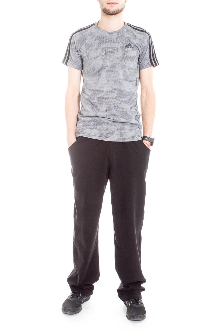 БрюкиСпортивная одежда<br>Удобные мужские брюки. Отличный вариант для активного отдыха.  Цвет: черный  Рост мужчины-фотомодели 182 см<br><br>По сезону: Всесезон<br>Размер : 54,56,58<br>Материал: Трикотаж<br>Количество в наличии: 6