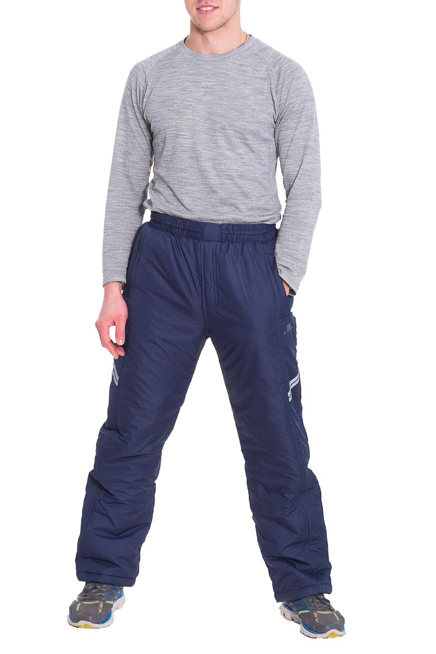 БрюкиБрюки<br>Мужские утепленные брюки. Модель выполнена из плотной болоньи.   Цвет: синий  Рост мужчины-фотомодели 173 см<br><br>По сезону: Зима<br>Размер : 50<br>Материал: Болонья<br>Количество в наличии: 1