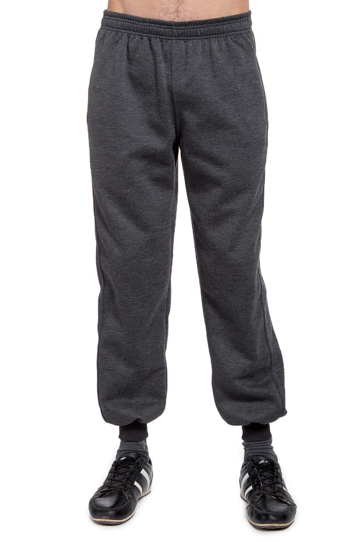БрюкиБрюки<br>Утепленные мужские брюки. Отличный выбор для занятий спортом или активного отдыха. Ростовка изделия 170-176 см.  В изделии использованы цвета: серый  Рост мужчины-фотомодели 177 см.<br><br>По сезону: Осень,Весна<br>Размер : 46,48,50,52,54,56<br>Материал: Трикотаж<br>Количество в наличии: 12