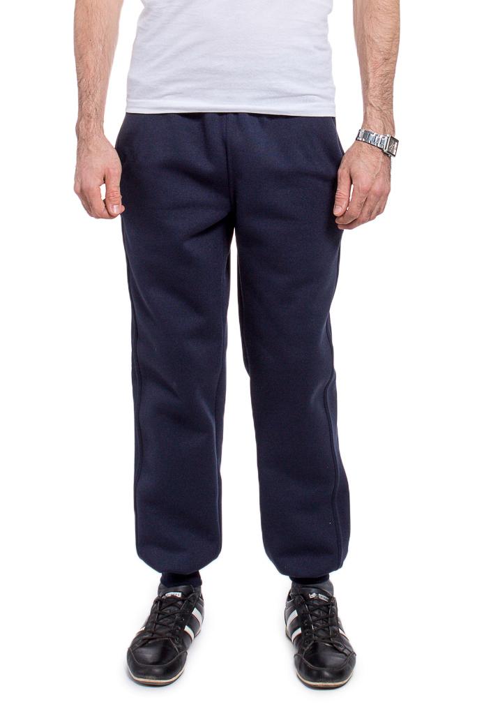 БрюкиБрюки<br>Утепленные мужские брюки. Отличный выбор для занятий спортом или активного отдыха. Ростовка изделия 170-176 см.  В изделии использованы цвета: темно-синий  Рост мужчины-фотомодели 177 см.<br><br>По сезону: Осень,Весна<br>Размер : 46,48,50,52,54,56<br>Материал: Трикотаж<br>Количество в наличии: 12