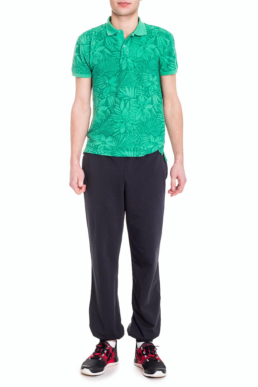 БрюкиБрюки<br>Удобные мужские брюки. Отличный вариант для активного отдыха.  Цвет: черный  Рост мужчины-фотомодели 182 см<br><br>По сезону: Осень,Весна<br>Размер : 48/182<br>Материал: Трикотаж<br>Количество в наличии: 1