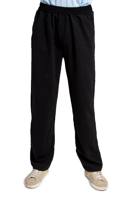 БрюкиБрюки<br>Мужские трикотажные брюки. Отличный вариант для активного отдыха и для домашнего использования.  Цвет: черный.<br><br>По сезону: Всесезон<br>Размер : 44,54,56,62<br>Материал: Трикотаж<br>Количество в наличии: 5